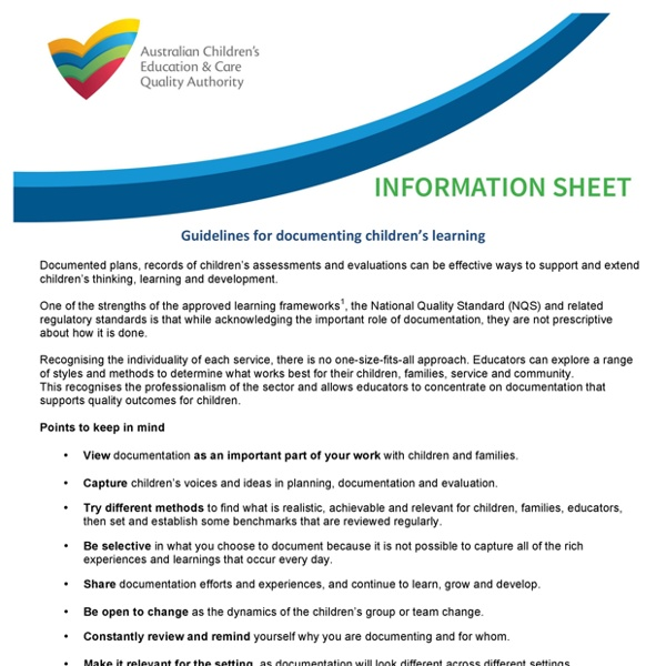 Microsoft Word - Information sheet - Documentation updated 26 May 2014 copy.docx