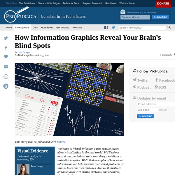 How Information Graphics Reveal Your Brain's Blind Spots