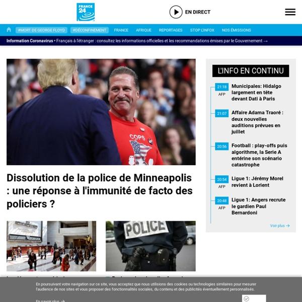 A LA UNE - l'actualité internationale en direct, article, reportages, entretiens exclusifs 24/7