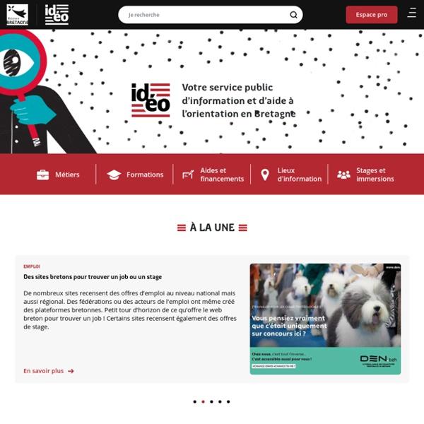 Votre service d'information et d'aide à l'orientation en Bretagne