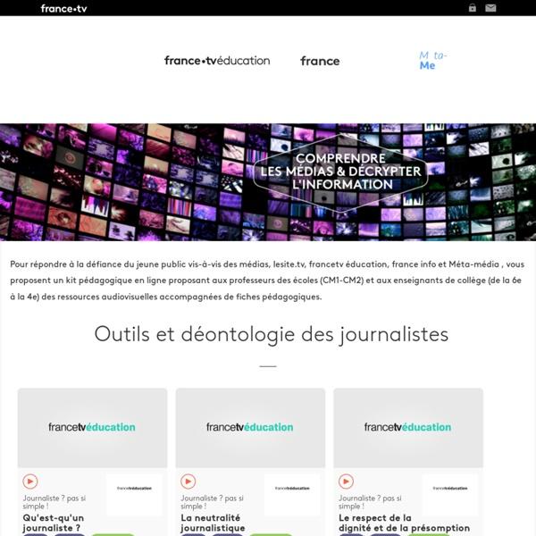 Education aux médias et à l'information - Kit pédagogique