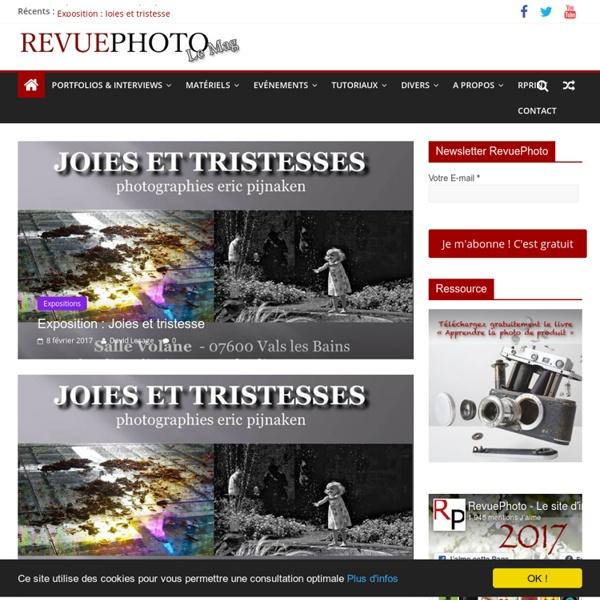 Magazine d'information pour photographe