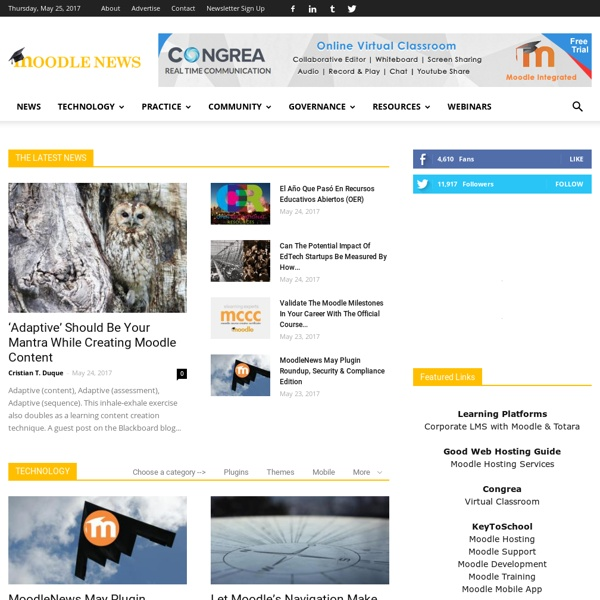 News, Information and Resources for the World's Leading LMS