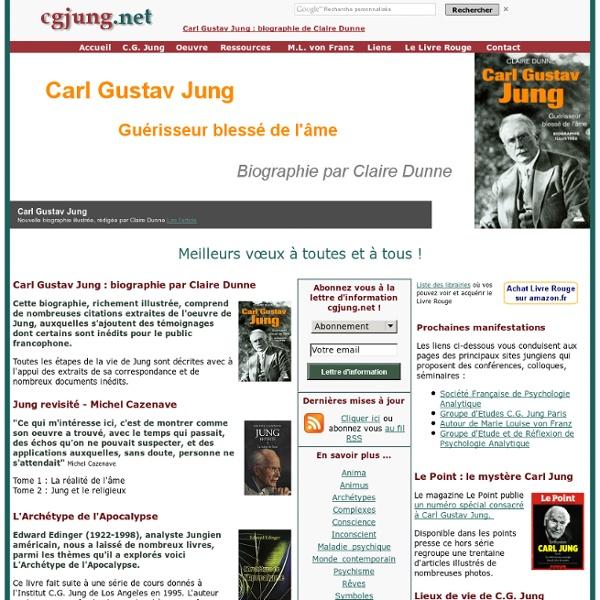 Jung Carl Gustav - Site d'information et de ressources jungiennes cgjung.net