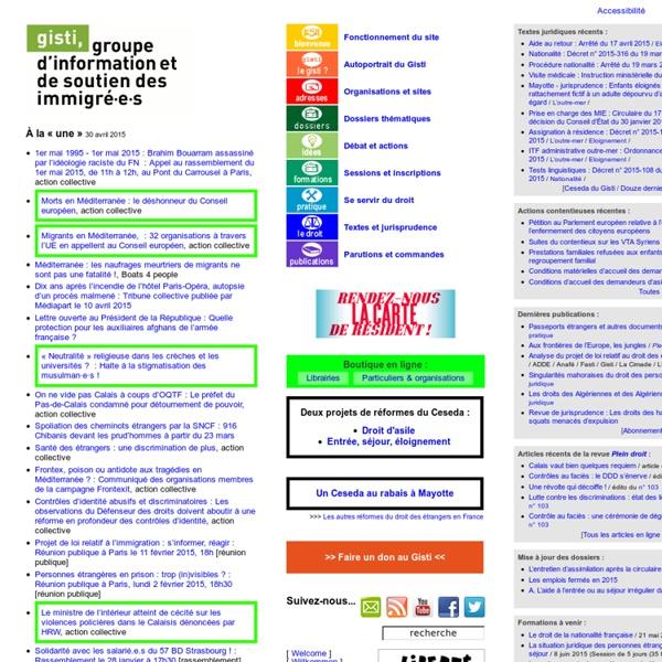Groupe d'information et de soutien des immigrés