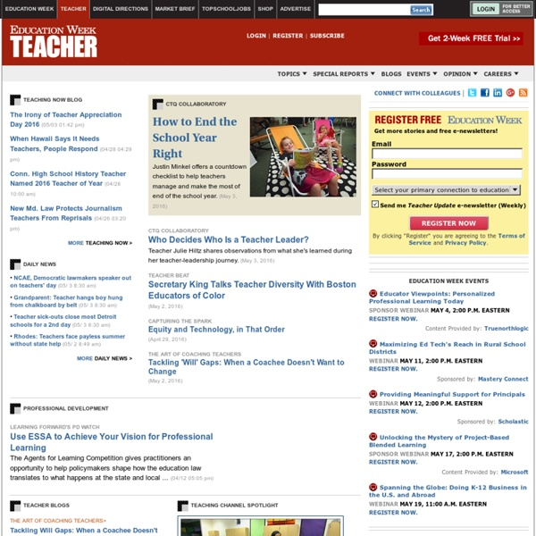 News and Information for Teacher Leaders