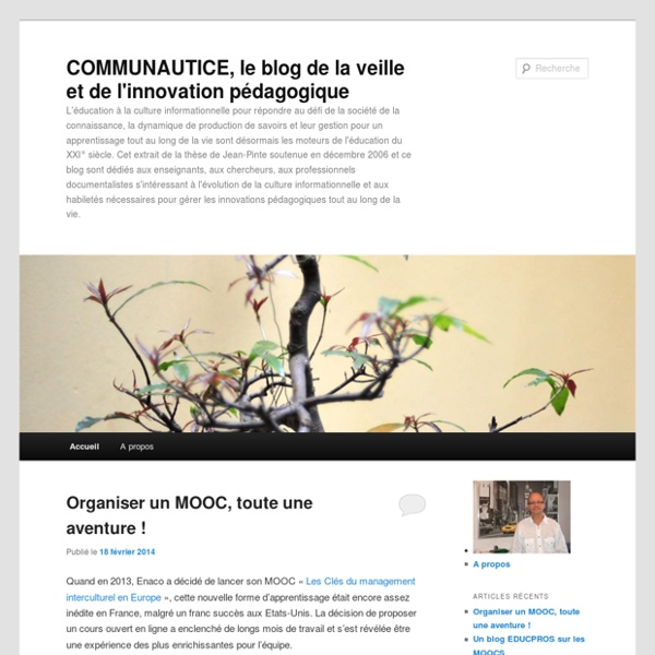 L'éducation à la culture informationnelle - Blog LeMonde.fr