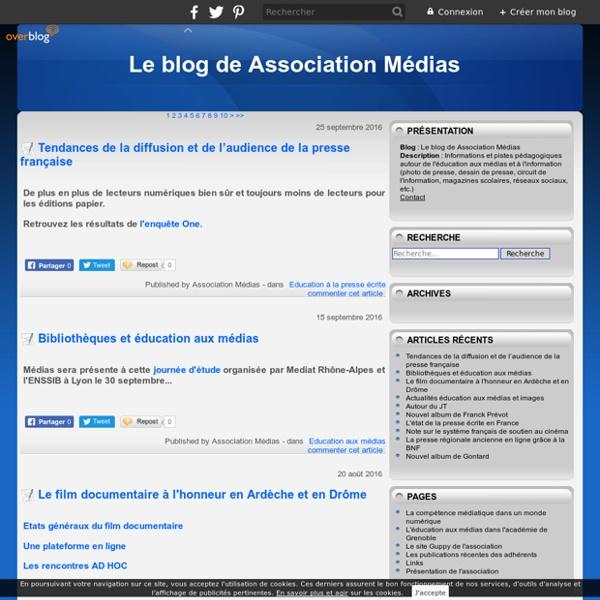 Le blog de Association Médias