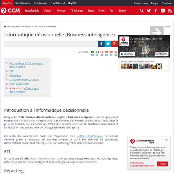Informatique décisionnelle (Business intelligence)