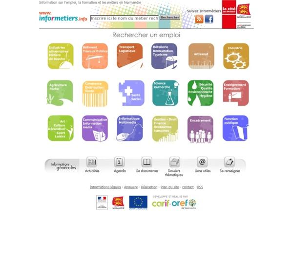 Informetiers.info Information sur l'emploi, la formation et les métiers en Basse-Normandie