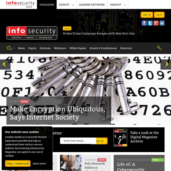 Infosecurity Magazine - Information Security & IT Security News and Resources