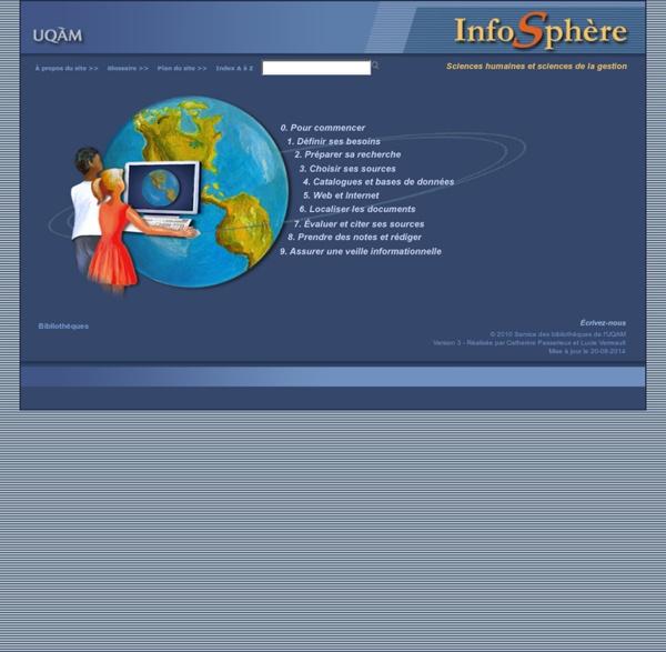 InfoSphère - Sciences humaines