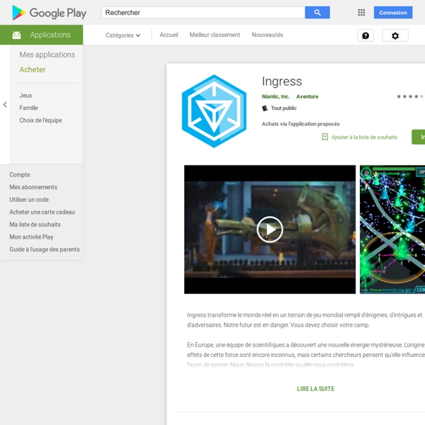 Ingress google play