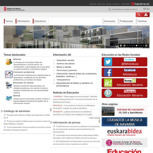 Evaluación - Departamento de Educación - Navarra