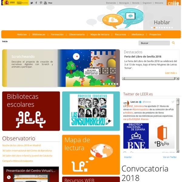 """Revista """"Leer.es"""" - Referencia destacada"""