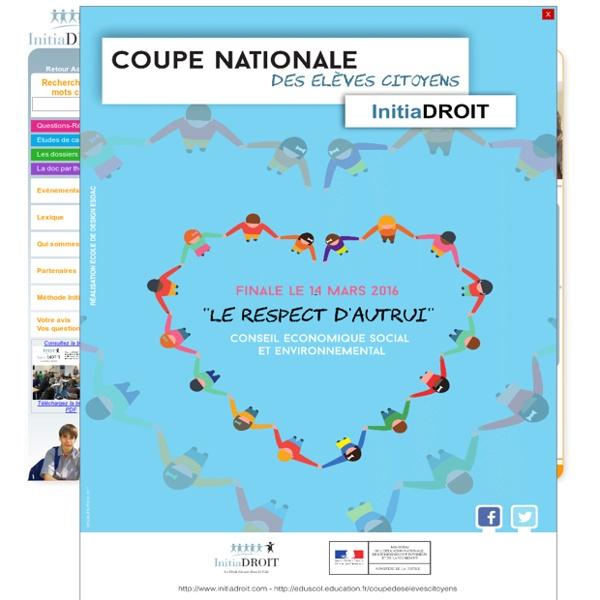Initiadroit - Dossier du mois : Le métiers du droit (2)
