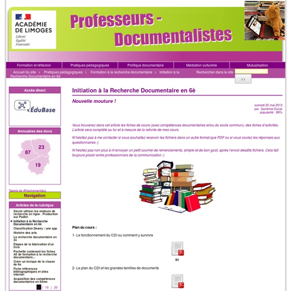 [Site Documentaliste]
