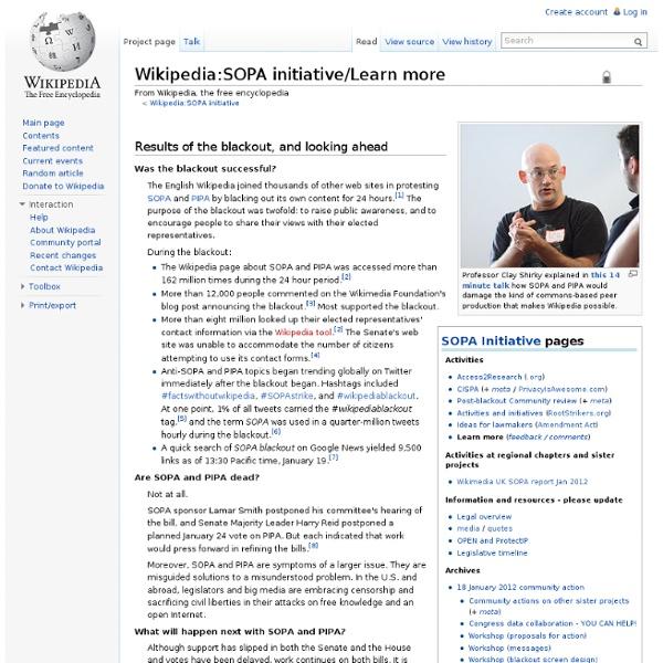 SOPA initiative/Learn more