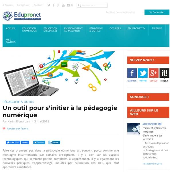 Un outil pour s'initier à la pédagogie numérique
