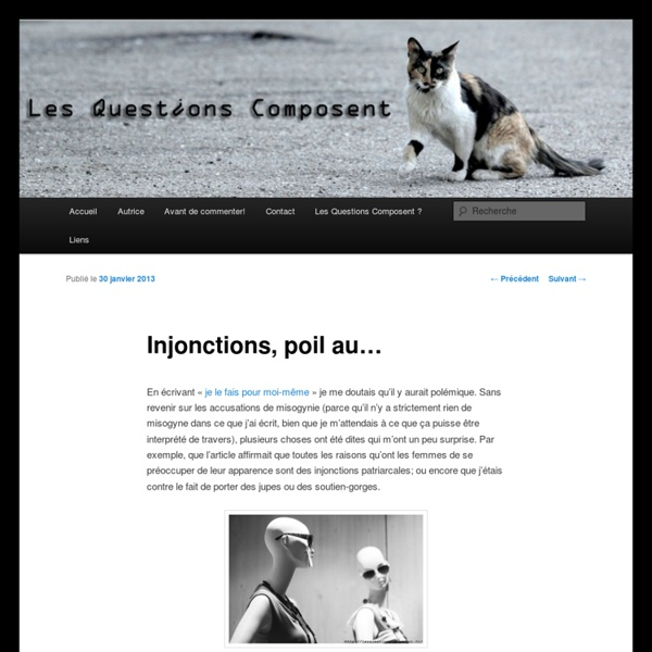 Injonctions, poil au…