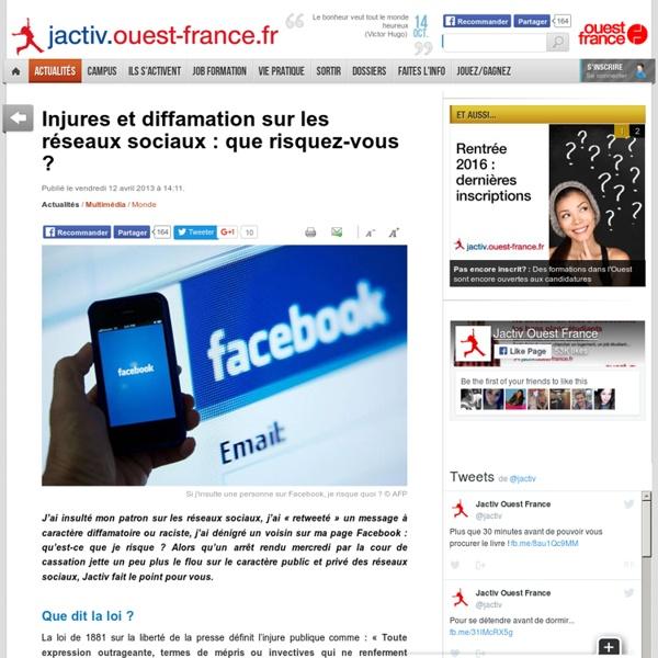 Injures et diffamation sur les réseaux sociaux : que risquez-vous ?