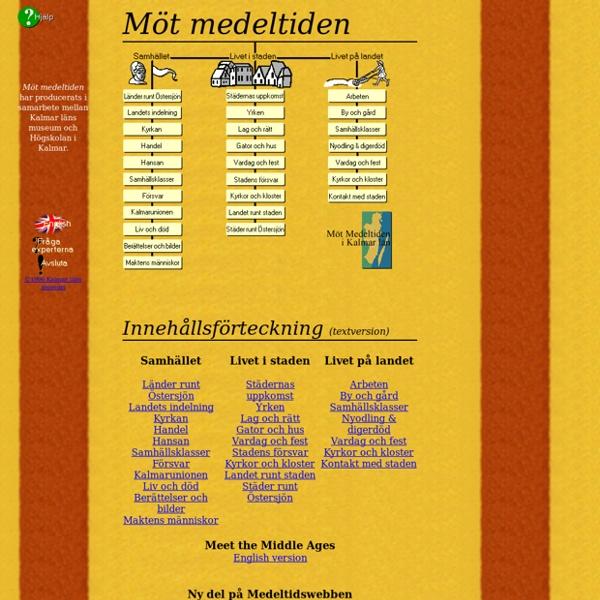 M t medeltiden - inneh llsf rteckning