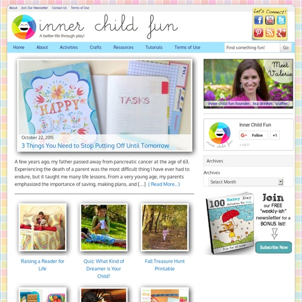 Crafts, Activities, Play Ideas