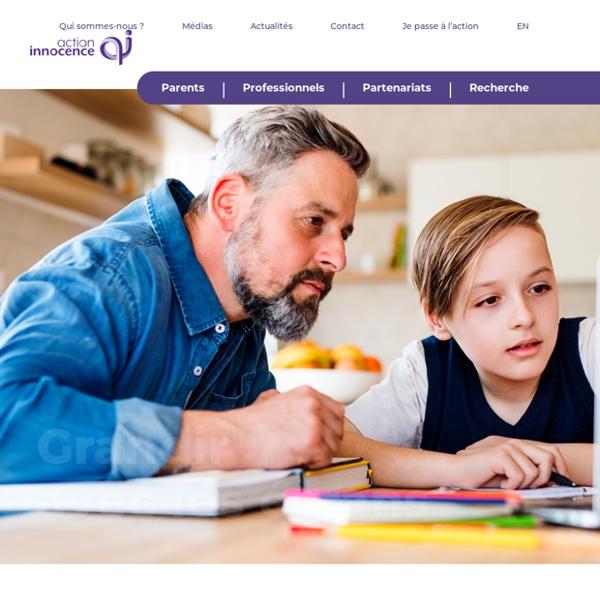 Action innocence - Préserver la dignité et l'intégrité des enfants sur Internet
