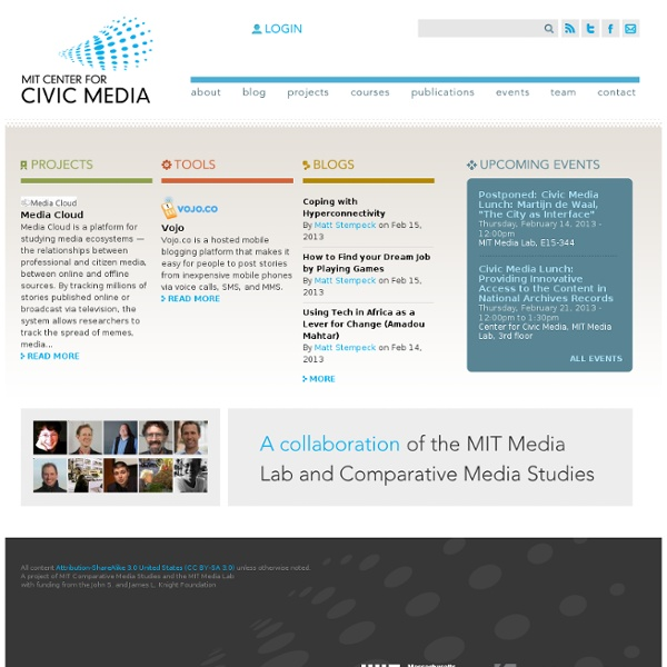 Innovating civic media tools and practices and testing them in communities
