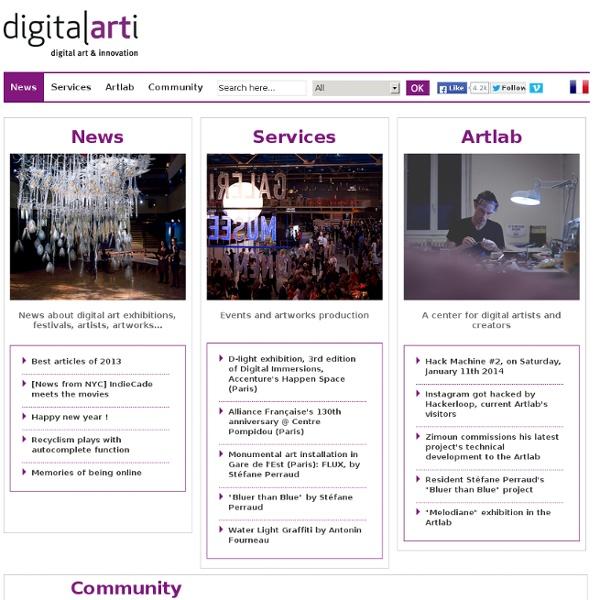 Digital art & innovation community
