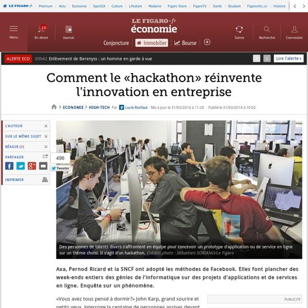 Hackathons: les marathons de l'innovation font courir les géants de l'industrie et des services