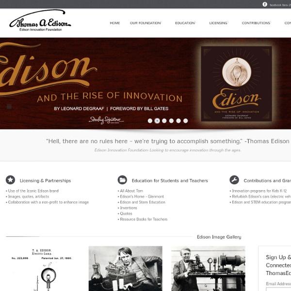 The Edison Innovation Foundation