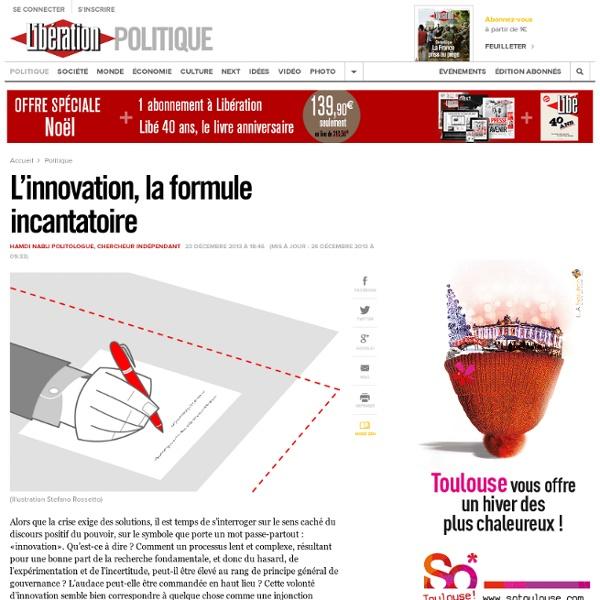L'innovation, la formule incantatoire
