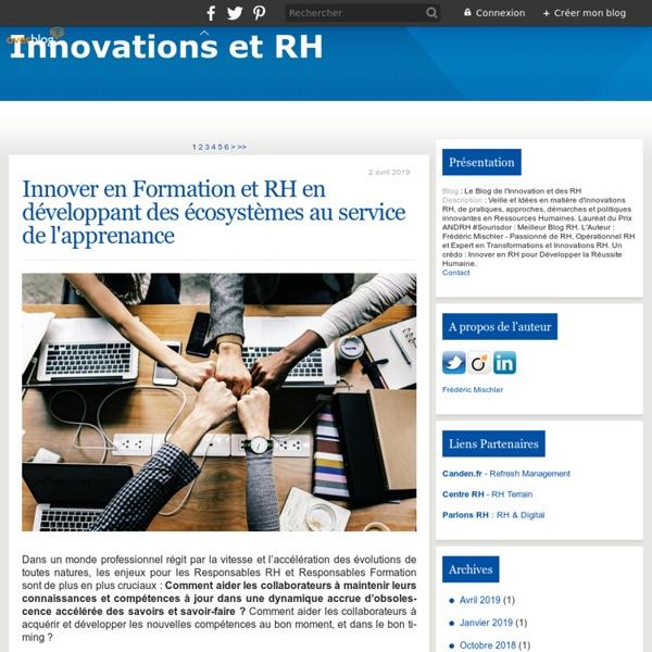 Le Blog de l'Innovation et des RH