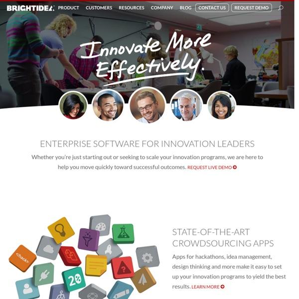 Brightidea: The Global Leader Cloud-Based Enterprise Innovation Management