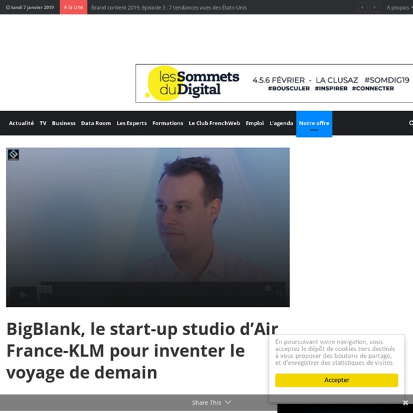 FrenchWeb.fr: Actualités internet, business, marketing, tech, design