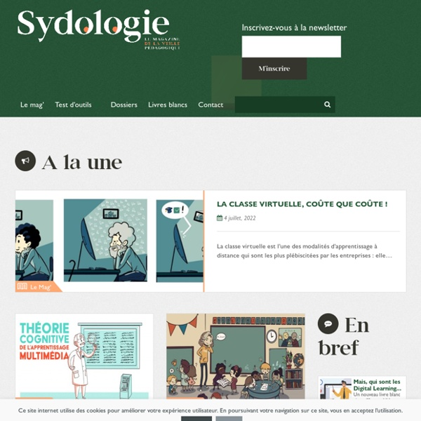 Sydologie : pédagogie & innovation pédagogique
