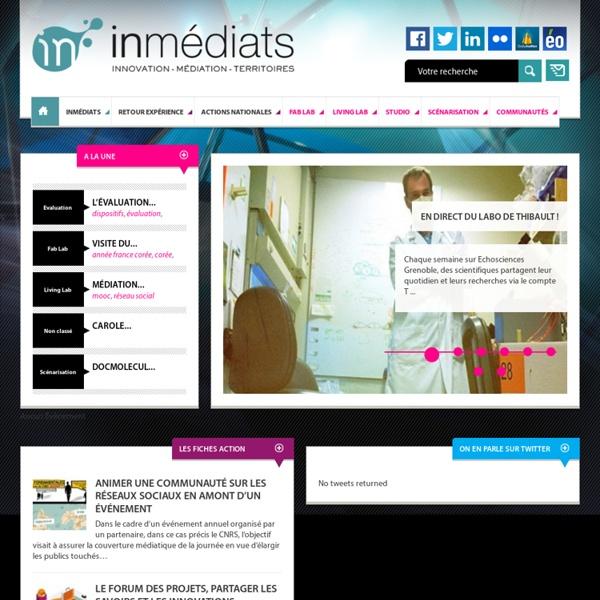 Innovation – Médiation – Territoires