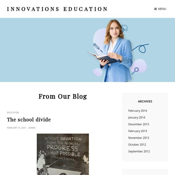 L'éducation par l'innovation
