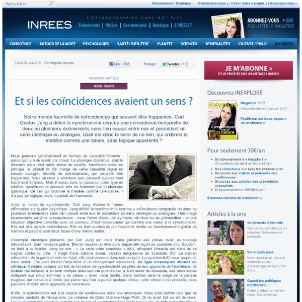Synchronicité : Sens et coïncidences