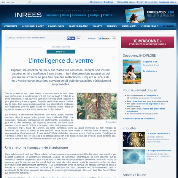 L'intelligence du ventre