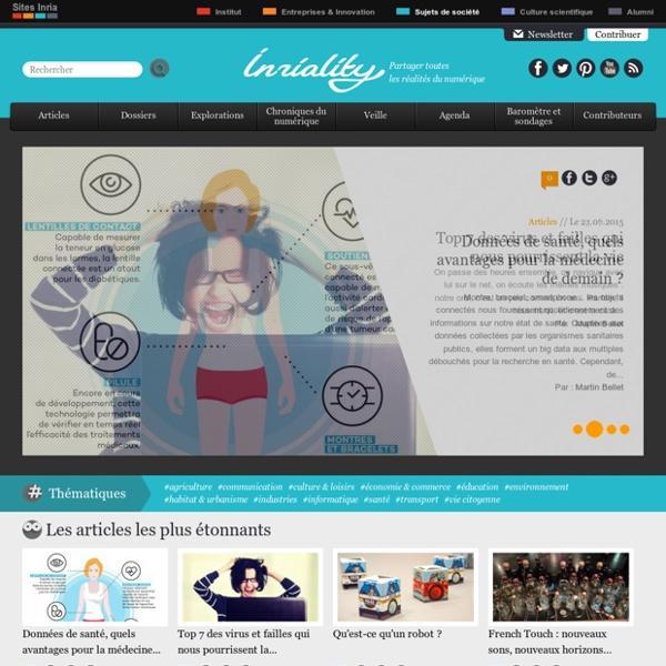 Inriality : informations et débats sur le monde numérique