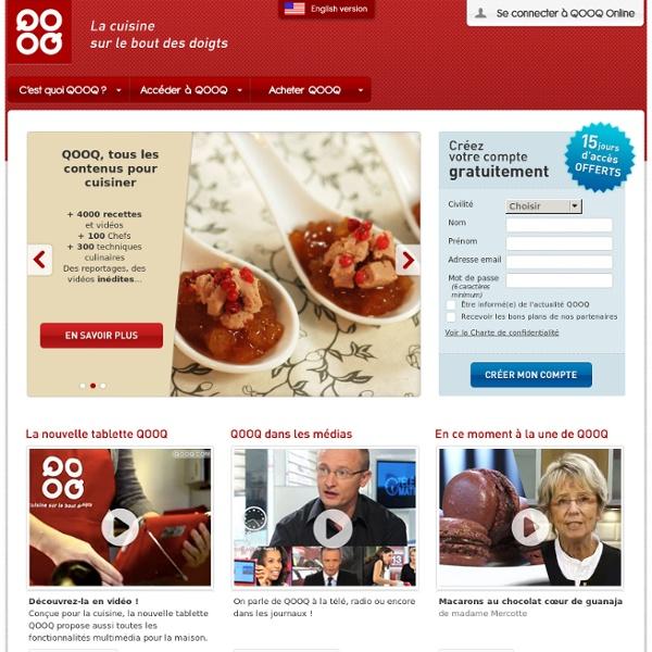 QOOQ - Le premier coach culinaire tactile