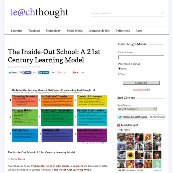 The Inside-Out School: A 21st Century Learning Model