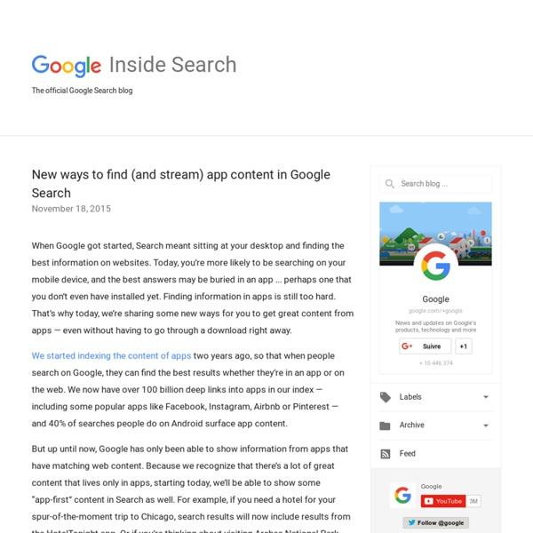 Inside Search