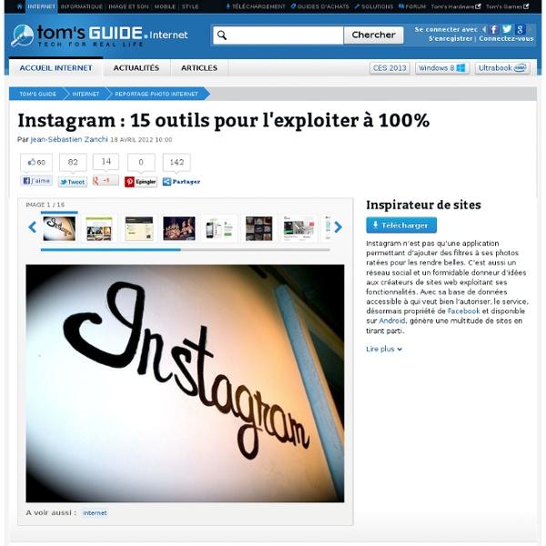 Instagram : 15 outils pour l'exploiter à 100% : Inspirateur de sites - Aurora