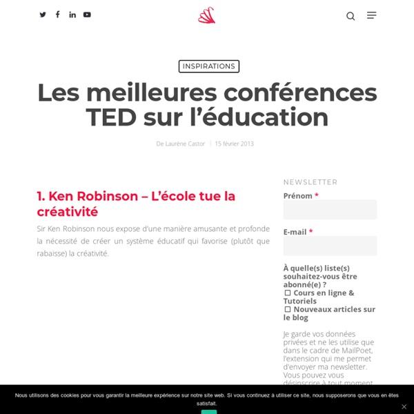Les meilleures conférences TED sur l'éducation
