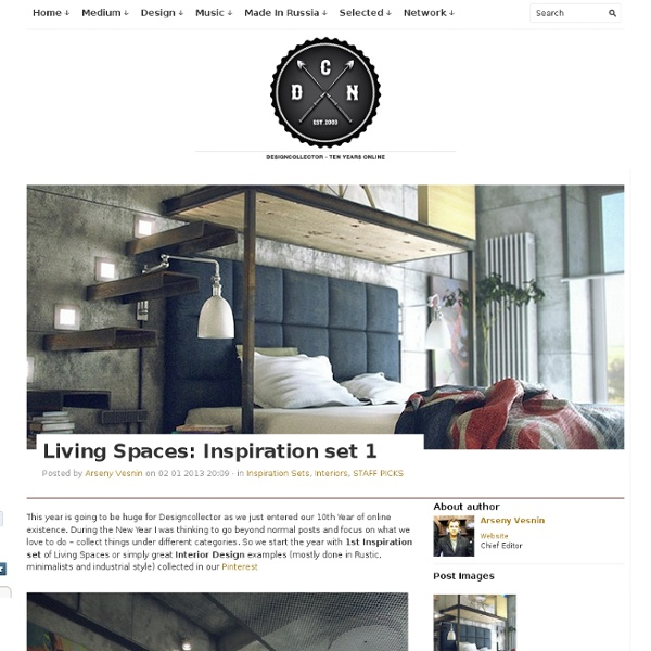 Living Spaces: Inspiration set 1