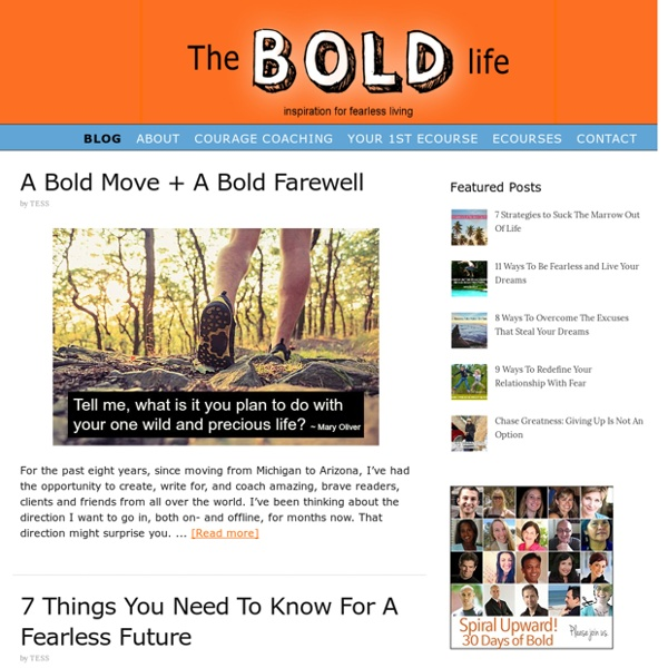 The Bold Life