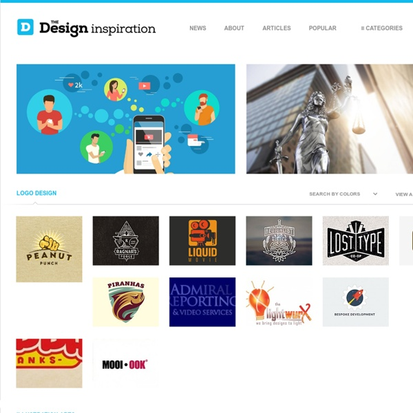 The Design Inspiration - Daily Logo Designs, Illustration Art, Website Showcase, Photos and Patterns